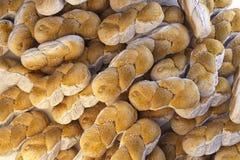 De achtergrond van het brood het 3d teruggeven Stock Foto