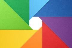De achtergrond van het camerablind, kleurenwiel, natuurlijke geweven achtergrond Stock Afbeelding