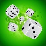 De achtergrond van het casino Royalty-vrije Stock Fotografie