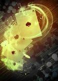 De achtergrond van het casino Stock Foto