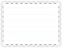 De Achtergrond van het certificaat Stock Afbeeldingen