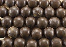 De achtergrond van het chocoladesuikergoed Stock Foto's