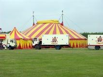 De achtergrond van het circus Stock Foto's
