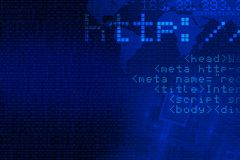De Achtergrond van het Concept van Internet stock illustratie