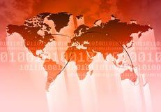 De Achtergrond van het Concept van Internet Stock Foto's