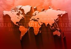 De Achtergrond van het Concept van Internet Stock Afbeelding