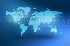 De Achtergrond van het Concept van Internet Royalty-vrije Stock Afbeeldingen