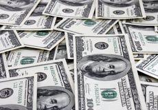 De achtergrond van het contante geld Royalty-vrije Stock Afbeeldingen