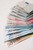 De achtergrond van het contante geld Stock Foto