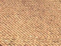 De achtergrond van het dak Royalty-vrije Stock Foto