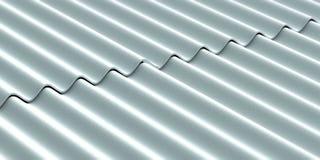 De achtergrond van het dakwerkbladen van het asbestcement 3D Illustratie stock illustratie