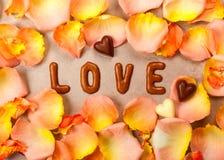 De achtergrond van het de dagconcept van Valentine stock foto