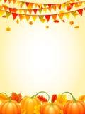 De achtergrond van het de herfstseizoen Stock Foto's