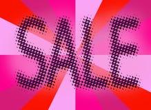 De achtergrond van het de markeringsetiket van de verkoop Stock Afbeeldingen
