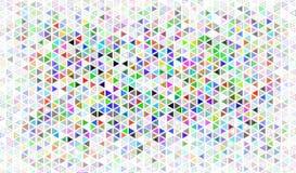 De achtergrond van het driehoeksmozaïek Stock Illustratie