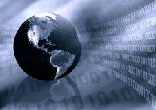 De Achtergrond van het e-business vector illustratie