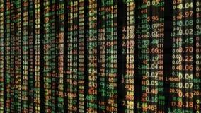 De achtergrond van het effectenbeursaantal Stock Fotografie