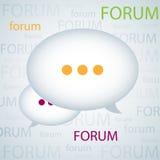 De achtergrond van het forum Royalty-vrije Stock Fotografie