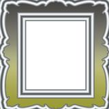 De achtergrond van het frame stock illustratie