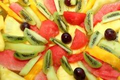 Fruitachtergrond stock fotografie