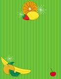 De Achtergrond van het fruit royalty-vrije illustratie