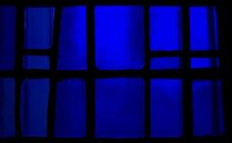 De achtergrond van het gebrandschilderd glas Stock Foto