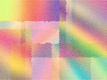 De achtergrond van het gebrandschilderd glas vector illustratie