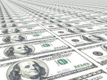 De achtergrond van het geld Stock Afbeeldingen