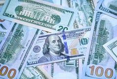 De Achtergrond van het geld Stock Foto's