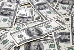 De achtergrond van het geld Royalty-vrije Stock Foto's