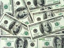 De achtergrond van het geld - dollars Stock Foto
