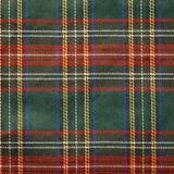 De achtergrond van het geruite Schotse wollen stof Stock Foto's