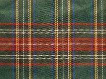 De achtergrond van het geruite Schotse wollen stof Royalty-vrije Stock Foto's