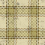 De achtergrond van het geruite Schotse wollen stof grunge stock illustratie