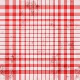 De achtergrond van het geruite Schotse wollen stof grunge vector illustratie