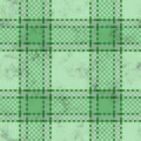 De achtergrond van het geruite Schotse wollen stof grunge royalty-vrije illustratie