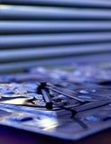 De achtergrond van het glas Stock Fotografie