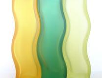 De achtergrond van het glas Royalty-vrije Stock Foto's