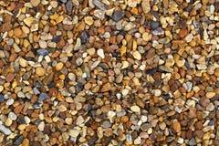 De achtergrond van het grint of van de rots Stock Foto