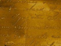 De achtergrond van het handschrift Royalty-vrije Stock Foto's