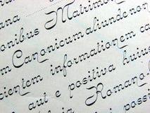 De achtergrond van het handschrift Royalty-vrije Stock Foto