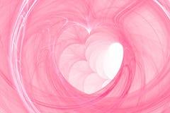 De achtergrond van het hart #1 Stock Foto