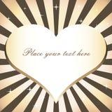 De achtergrond van het hart Royalty-vrije Stock Foto