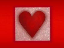 De achtergrond van het hart Stock Afbeeldingen