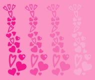 De achtergrond van het hart Royalty-vrije Stock Foto's