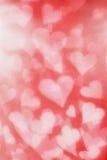 De achtergrond van het hart Stock Afbeelding