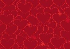 De Achtergrond van het hart Royalty-vrije Stock Afbeelding