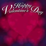 De Achtergrond van het Hart van valentijnskaarten stock illustratie