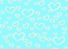 De Achtergrond van het hartenontwerp Groetkaart Valentine Day Vector illustratie Het Patroon van het hart Dalende confettien Eps  vector illustratie