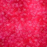 De achtergrond van het hartsymbolen van de liefde Royalty-vrije Stock Fotografie